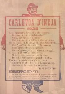 locandina carnevale 1924