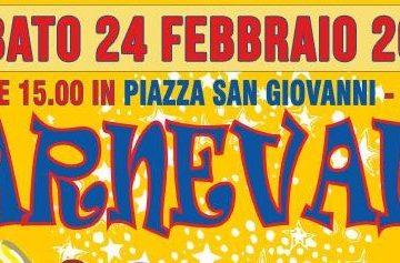 24 febbraio 2018 in piazza San Giovanni ad Imperia Oneglia dalle ore 15.00