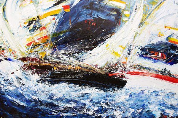 Un quadro del pittore di fama internazionale Mario Borella